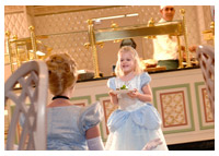 Disneys World - Dining - Cinderella's Happily Ever After Dinner at 1900 Park Fare