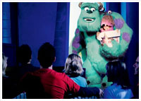Disney California Adventure - Hollywood Land - Monsters, Inc. Mike & Sulley to the Rescue!