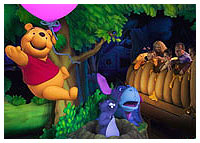 Disneyland Resort - Critter Country - The Many Adventures of Winnie the Pooh