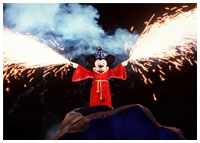 Disneyland - Entertainment - Fantasmic!