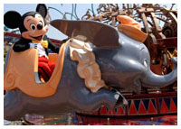 Disneyland Resort - Fantasyland - Dumbo the Flying Elephant