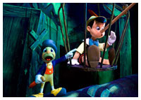 Disneyland Resort - Fantasyland - Pinocchio's Daring Journey
