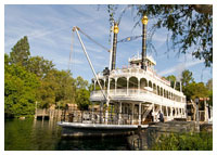 Disneyland Resort - Frontierland - Mark Twain Riverboat