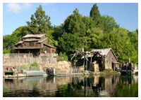 Disneyland Resort - Frontierland - Pirate's Lair on Tom Sawyer Island
