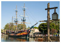 Disneyland Resort - Frontierland - Sailing Ship Columbia