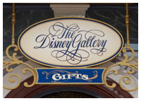 Disneyland Resort - Mainstreet U.S.A. - The Disney Gallery
