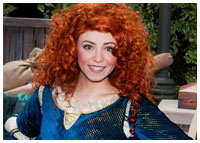Disneyland - Entertainment - Meet Merida in Fantasyland