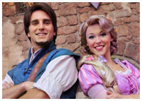 Disneyland - Entertainment - Meet Rapunzel in Fantasyland