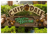 Disneyland Resort - Mickey's Toontown - Chip 'n Dale Treehouse