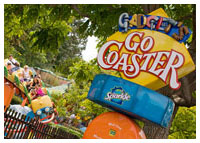 Disneyland Resort - Mickey's Toontown - Gadget's Go Coaster