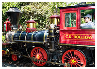 Disneyland Resort - Mainstreet U.S.A. - The Disney Railroad
