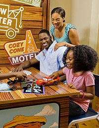 Disney's Art of Animation Cars Family Suite