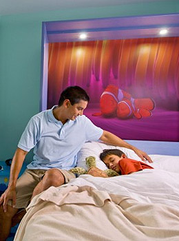 Disney's Art of Animation Finding Nemo Family Suite Room