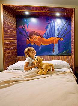 Disney's Art of Animation Lion King Room