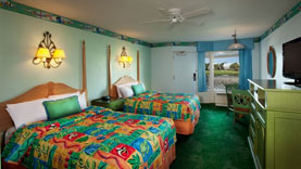 Stay at the Caribbean Beach Resort