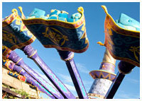 Disneys Magic Kingdom - Adventureland - The Magic Carpets of Aladdin