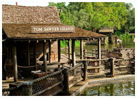 Disneys Magic Kingdom - Frontierland - Tom Sawyer Island