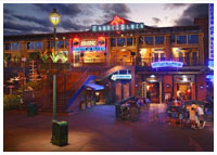 Downtown Disney - Dining - Crossroads at House of Blues