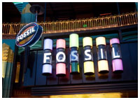 Downtown Disney - Shopping - Fossil