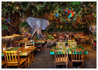 Downtown Disney District - Dining - Rainforest Cafe at Downtown Disney District