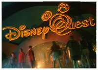 Disneys West Side - Downtown Disney - DisneyQuest Emporium