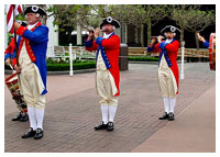 Disney's Epcot - Entertainment - Spirit of America Fife & Drum Corps