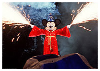 Disneys Hollywood Studios - Entertainment - Fantasmic!
