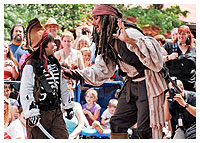 Disneys Magic Kingdom - Entertainment - Captain Jack Sparrow's Pirate Tutorial