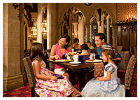 Disneys Magic Kingdom - Dining - Cinderella's Royal Table