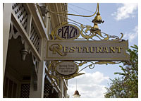 Disneys Magic Kingdom - Dining - The Plaza Restaurant