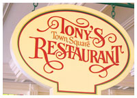 Disneys Magic Kingdom - Dining - Tony's Town Square Restaurant
